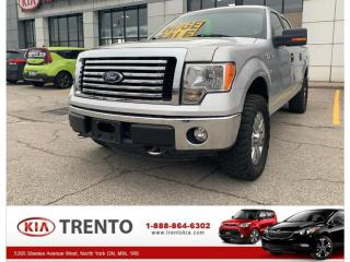 Used 2011 Ford F-150 4WD SuperCrew 145  XLT |LOW LOW KM |40/20/40 SPLIT for sale in North York, ON