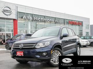 Used 2016 Volkswagen Tiguan Special Edition SPECIAL EDITION | HEATED SEATS | BACK-UP CAM | for sale in Richmond Hill, ON