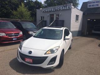 Used 2011 Mazda MAZDA3 4DR SDN AUTO GT for sale in Brampton, ON