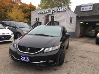Used 2015 Honda Civic Sedan 4DR AUTO TOURING for sale in Brampton, ON