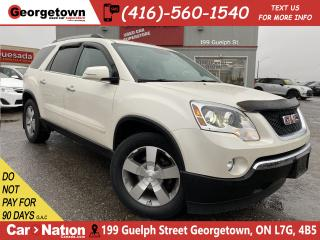 Used 2012 GMC Acadia SLT2 | AWD | BOSE | LTHR | BU CAM |7 PASS|BLUTOOTH for sale in Georgetown, ON