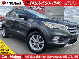 Used 2017 Ford Escape SE 4WD | BU CAM | BLUTOOTH | ALLOYS | HTD SEATS for sale in Georgetown, ON
