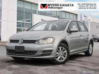 Used 2016 Volkswagen Golf 1.8 TSI Trendline  -  Bluetooth for sale in Kanata, ON