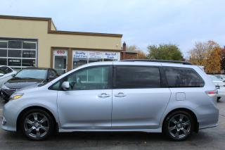 Used 2017 Toyota Sienna SE Leather Power Doors for sale in Brampton, ON
