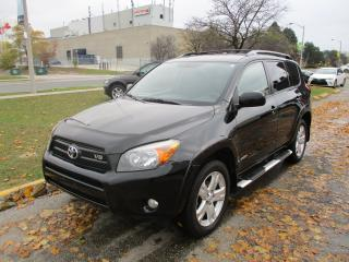 Used 2007 Toyota RAV4 Sport~V6~ALLOY RIMS~SUNROOF~AWD~CERTIFIED!!! for sale in Toronto, ON