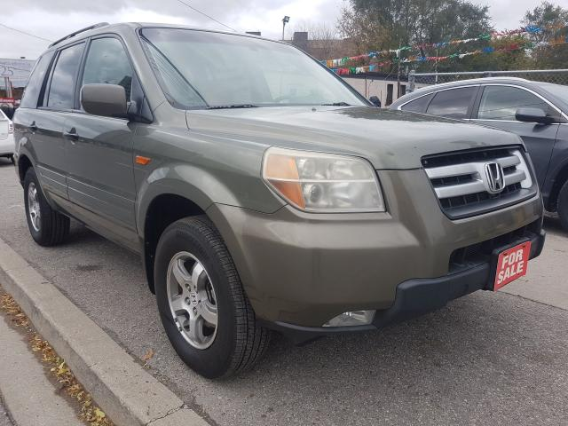 2008 Honda Pilot EX-L- AWD - SUNROOOF - LEATHER-8 SEATS-ALLOYS