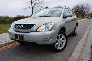 Used 2009 Lexus RX 350 ULTRA PREMIUM / STUNNING COLOUR / NAVIGATION / DVD for sale in Etobicoke, ON