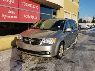 Used 2017 Dodge Grand Caravan Crew / Garmin Navigation / Back Up Camera for sale in Edmonton, AB