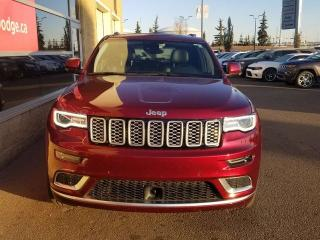 Used 2018 Jeep Grand Cherokee Summit / Panoramic Sunroof / GPS Navigation for sale in Edmonton, AB
