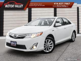 Used 2012 Toyota Camry XLE Hybrid Leather - Navigation - B.Up Cam! for sale in Scarborough, ON