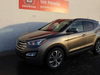 Used 2015 Hyundai Santa Fe Sport LIMITED, AWD, LEATHER, SUNROOF, NAV for sale in Edmonton, AB