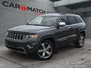 Used 2014 Jeep Grand Cherokee V8 LIMITED / NAV / ROOF / for sale in Cambridge, ON