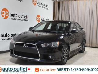 Used 2015 Mitsubishi Lancer Se, 2.0L I4, Fwd, Leather heated seats, Sunroof, Bluetooth for sale in Edmonton, AB