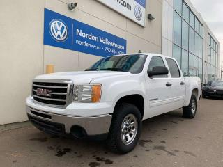 Used 2013 GMC Sierra 1500 SLE 4X4 CREW CAB - V8 4.8L for sale in Edmonton, AB
