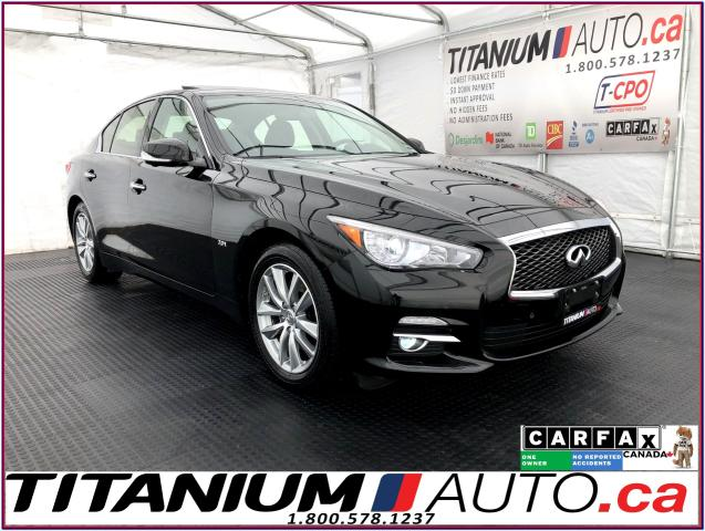2016 Infiniti Q50 AWD+GPS+360 Camera+Blind Spot Monitor+Bose Sound+