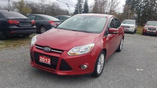 Used 2012 Ford Focus SEL for sale in Stouffville, ON