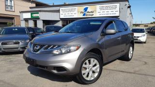 Used 2012 Nissan Murano S w/Backup Cam for sale in Etobicoke, ON
