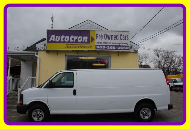 2015 GMC Savana 2500 EXT. Cargo Van, Loaded