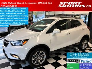 Used 2018 Buick Encore Essence AWD 4G +Apple Play+Leather+Blind Spot+Roof for sale in London, ON