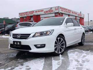Used 2015 Honda Accord Sport, low kms, clean carproof report for sale in Toronto, ON