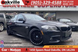 Used 2011 BMW 5 Series 535i xDrive | NAVI | B/U CAM | M-SPORT | SUNROOF for sale in Oakville, ON
