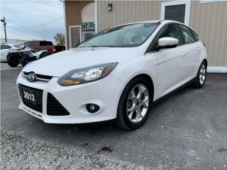 Used 2013 Ford Focus Titanium for sale in Tilbury, ON