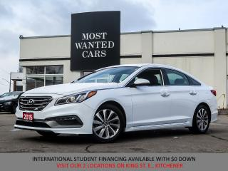 Used 2015 Hyundai Sonata Sport TECH|NAVIGATION|CAMERA|LEATHER|SUNROOF for sale in Kitchener, ON