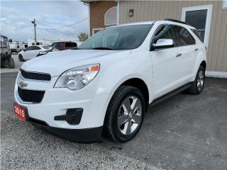 Used 2015 Chevrolet Equinox LT for sale in Tilbury, ON