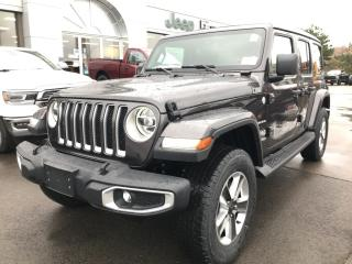 New 2020 Jeep Wrangler Unlimited Sahara for sale in Hamilton, ON