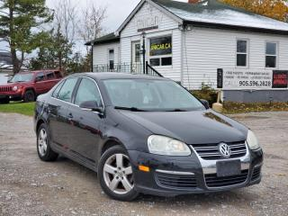Used 2009 Volkswagen Jetta Sedan 2.5L Power Heated seats Cruise Power group A/C for sale in Sutton, ON
