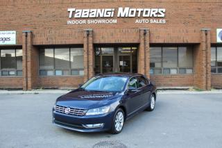Used 2012 Volkswagen Passat HIGHLINE I NO ACCIDENTS I NAVIGATION I LEATHER I SUNROOF IBT for sale in Mississauga, ON