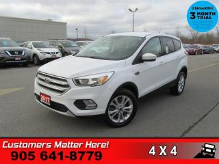 Used 2017 Ford Escape SE  4X4 REAR-CAMERA HTD-SEATS PWR-GRP for sale in St. Catharines, ON