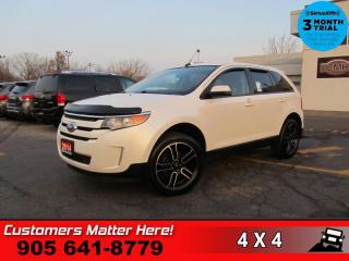 Used 2014 Ford Edge SEL  V6 AWD LEATH NAV CAM P/SEATS HS for sale in St. Catharines, ON