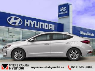 Used 2020 Hyundai Elantra Preferred IVT  - $125 B/W for sale in Kanata, ON