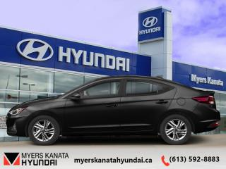 Used 2020 Hyundai Elantra Preferred IVT  - $127 B/W for sale in Kanata, ON