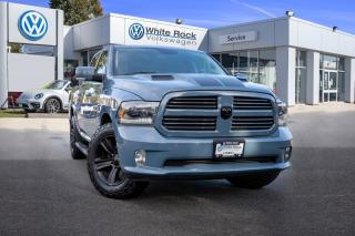 Used 2015 RAM 1500 Sport <b>*CERAMIC BLUE* *NAVIGATION* *REMOTE START* *SUNROOF* for sale in Surrey, BC