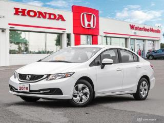 Used 2015 Honda Civic LX Sold Pending Customer Pick Up! for sale in Waterloo, ON