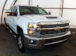 Used 2018 Chevrolet Silverado 2500 HD LTZ DURAMAX DIESEL, WHEEL TO WHEEL SIDE STEPS, LEATHER HEATED SEATING, FRONT AND REAR PARK SENSE for sale in Ottawa, ON
