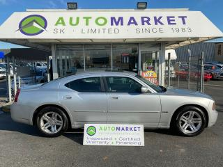 Used 2006 Dodge Charger R/T V8 HEMI! DVD! FREE BCAA & WRNTY! YOU WORK/YOU DRIVE!! for sale in Langley, BC