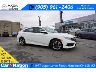 Used 2018 Honda Civic LX | HEATED SEATS | REAR CAM | BLUETOOTH | CRUISE for sale in Hamilton, ON