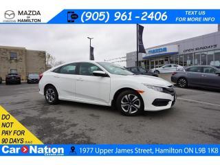 Used 2018 Honda Civic LX   HEATED SEATS   REAR CAM   BLUETOOTH   CRUISE for sale in Hamilton, ON