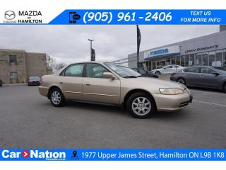 Used 2002 Honda Accord SE | AS-TRADED | HEATED SEATS | A/C for sale in Hamilton, ON