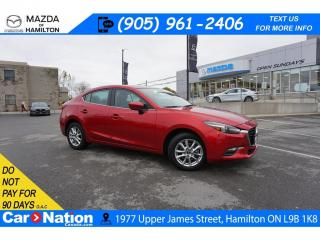 Used 2018 Mazda MAZDA3 GS | SUNROOF | REAR CAM | HEATED SEATS | BLUETOOTH for sale in Hamilton, ON