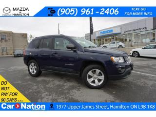 Used 2013 Jeep Compass Sport/North NORTH | 4WD | HEATED SEATS | SAT RADIO for sale in Hamilton, ON