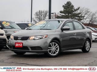 Used 2012 Kia Forte 2.0L EX EX | A/C | CRUISE | KEYLESSENTRY | HTDSEATS for sale in Burlington, ON