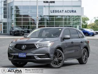 Used 2020 Acura MDX Tech ACURA CERTIFIED   CLEAN CARFAX   LOADED for sale in Burlington, ON