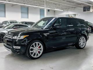 Used 2017 Land Rover Range Rover Sport DYNAMIC/AUTOBIOGRAPHY/MASSAGE SEATS/SOFT CLOSING DOORS! for sale in Toronto, ON