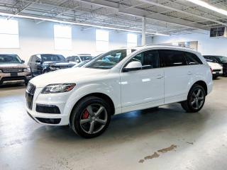 Used 2015 Audi Q7 TDI/VORSPRUNG/VENTILATED SEATS/HEATED STEERING/BLIND SPOT/7PASS! for sale in Toronto, ON