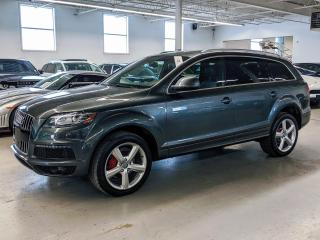 Used 2015 Audi Q7 TDI/VORSPRUNG/VENTILATED SEATS/HEATED STEERING! for sale in Toronto, ON