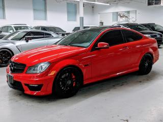 Used 2013 Mercedes-Benz C-Class C 63 AMG/NAVI/BACK-UP CAM/PANO/CARBON FIBER! for sale in Toronto, ON